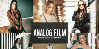 Free Analog Film Lightroom Presets
