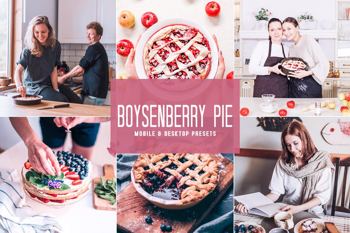 Free Boysenberry Pie Lightroom Presets