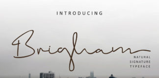 Free Brigham Signature Font