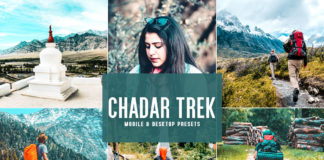 Free Chadar Trek Lightroom Presets