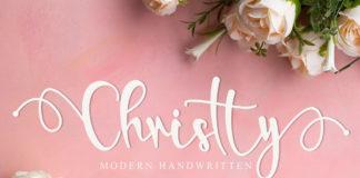 Free Christty Handwritten Font