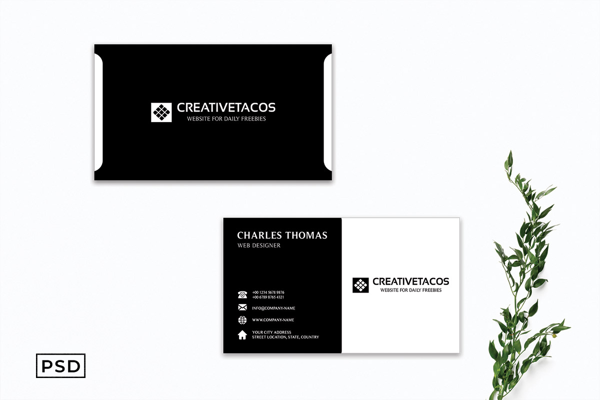 Free Creative Modern Business Card Template