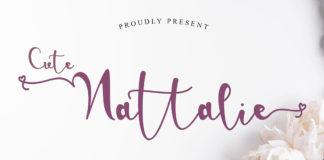 Free Cute Nattalie Handwritten Font