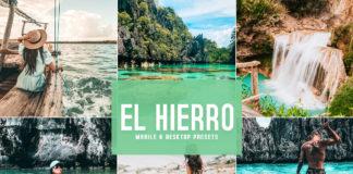 Free El Hierro Lightroom Presets