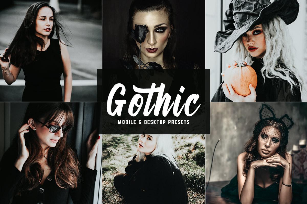 Free Gothic Lightroom Presets
