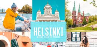 Free Helsinki Lightroom Presets