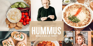 Free Hummus Lightroom Presets