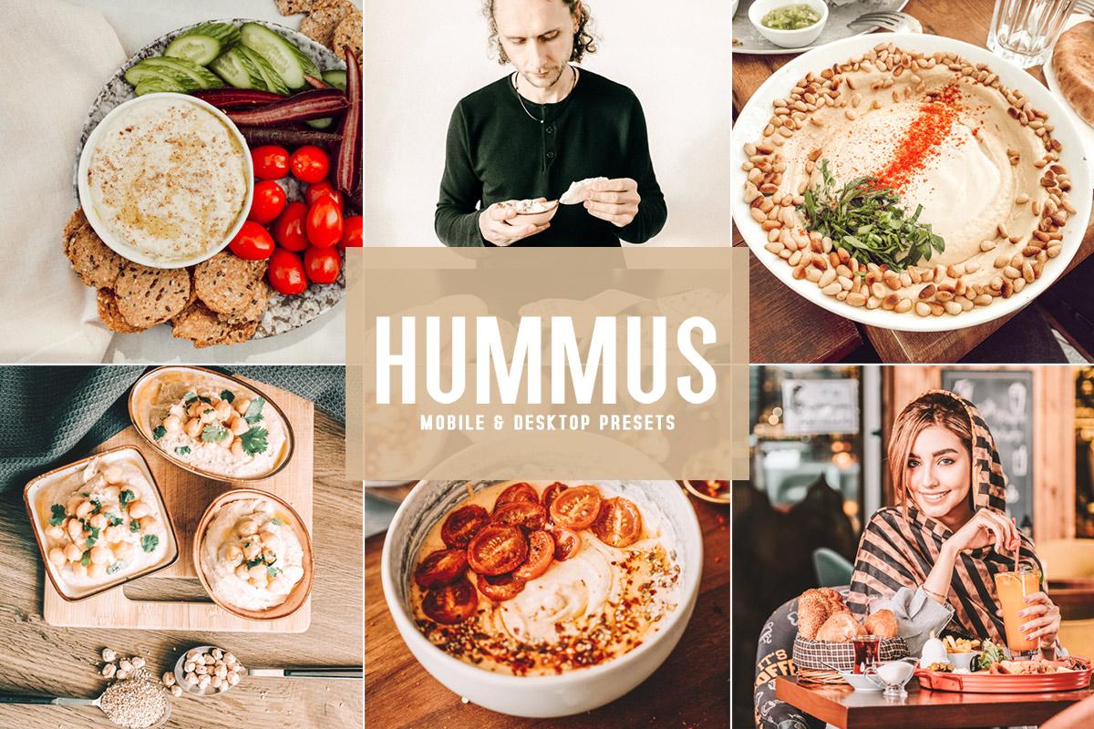 Free Hummus Lightroom Presets