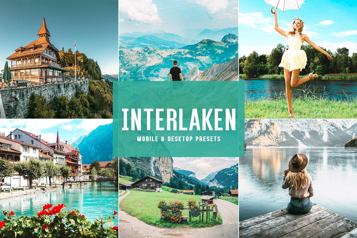 Free Interlaken Lightroom Presets