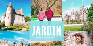 Free Jardin Lightroom Presets