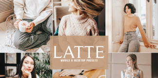 Free Latte Lightroom Presets