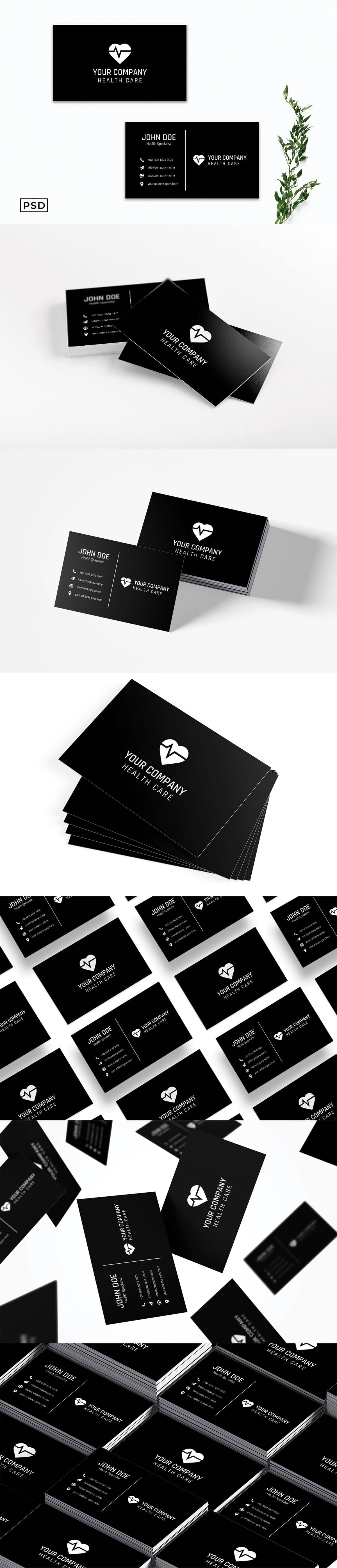 Free Minimal Business Card Template V5