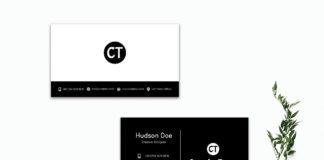 Free Modern Business Card Template V2