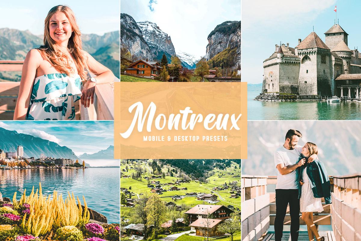 Free Montreux Lightroom Presets