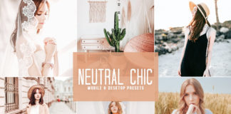 Free Neutral Chic Lightroom Presets