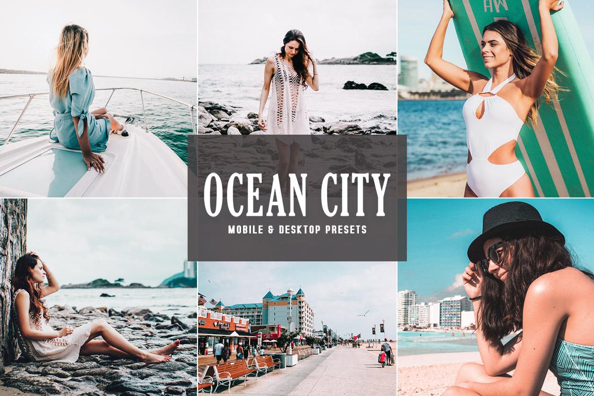 Free Ocean City Lightroom Presets