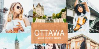Free Ottawa Mobile & Desktop Lightroom Presets