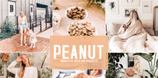 Free Peanut Lightroom Presets