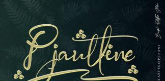 Free Pjaulline Script Font