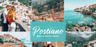 Free Postiano Lightroom Presets