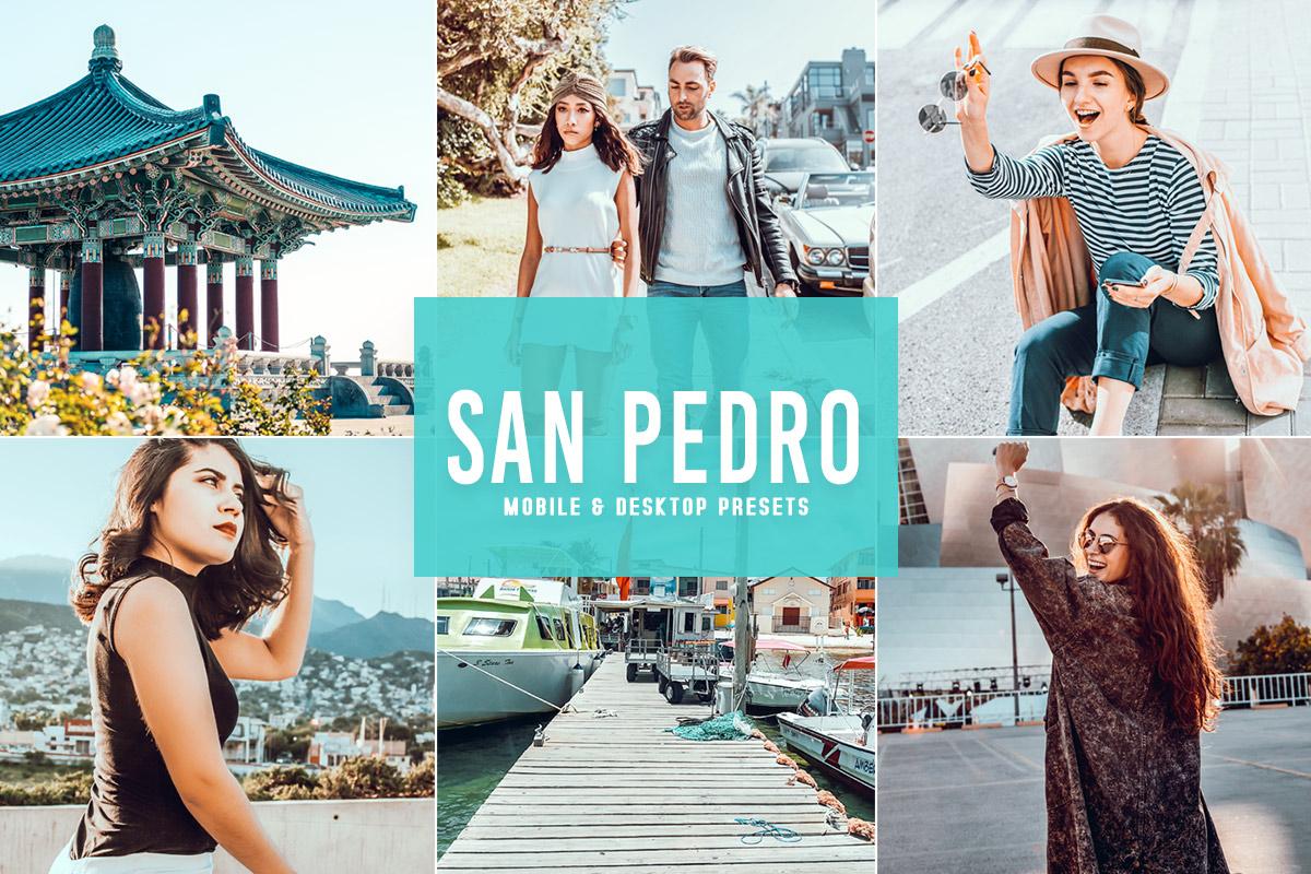Free San Pedro Lightroom Presets