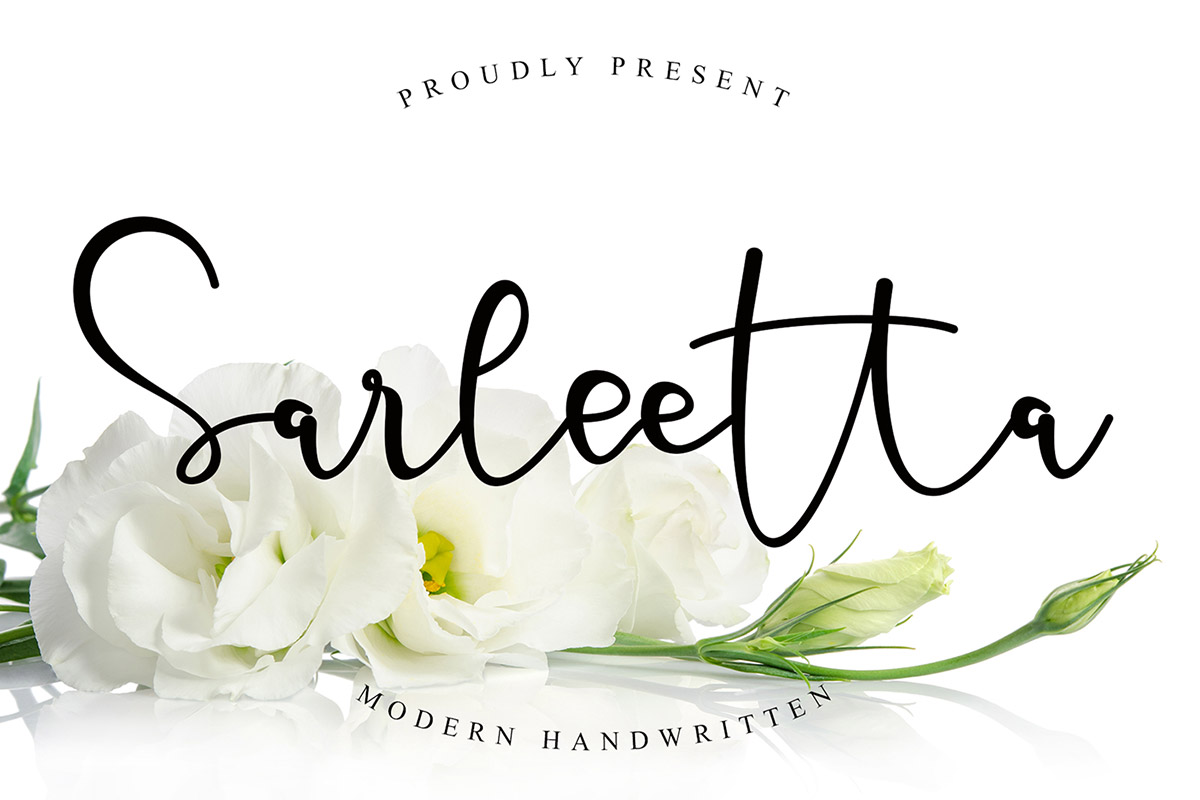 Free Sarleetta Handwritten Font