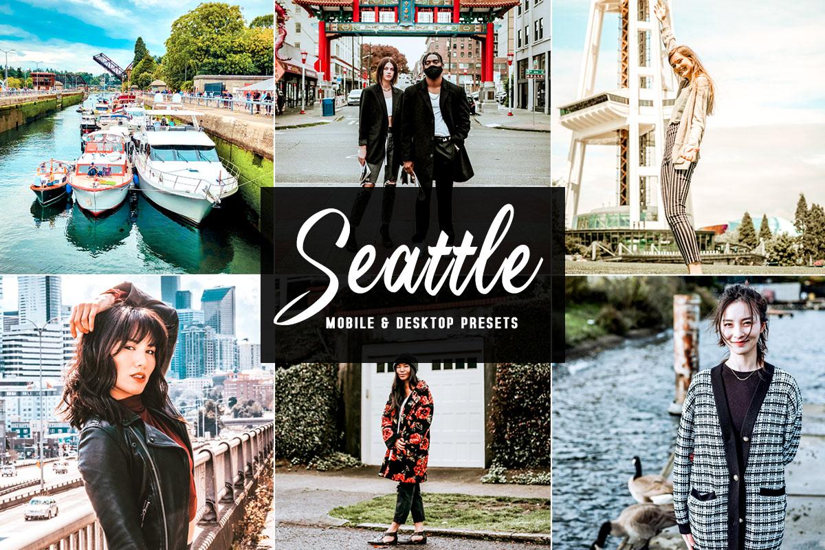 Free Seattle Lightroom Presets