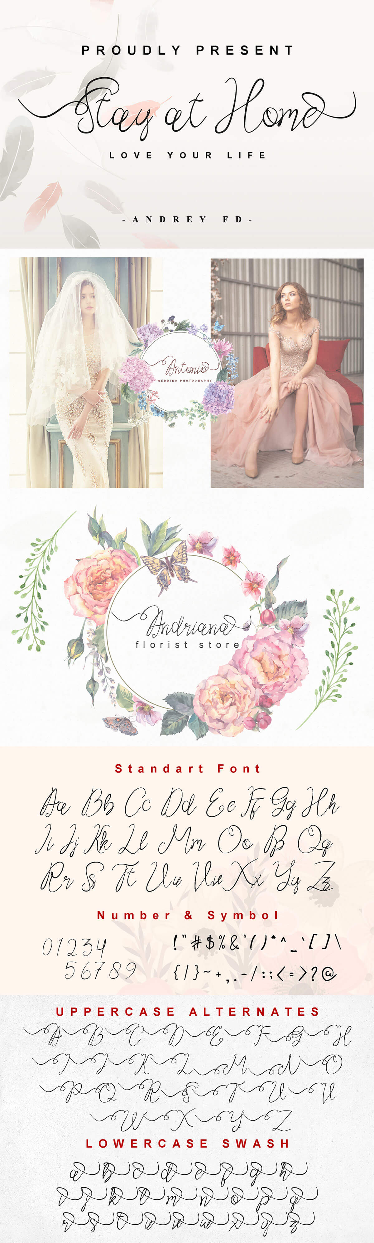 Free Stay at Home Script Font