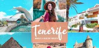 Free Tenerife Lightroom Presets