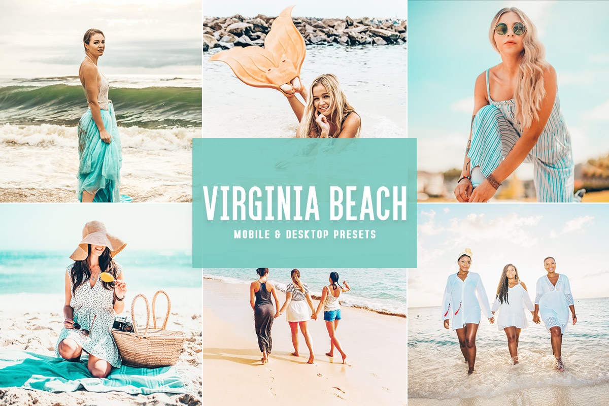 Free Virginia Beach Lightroom Presets