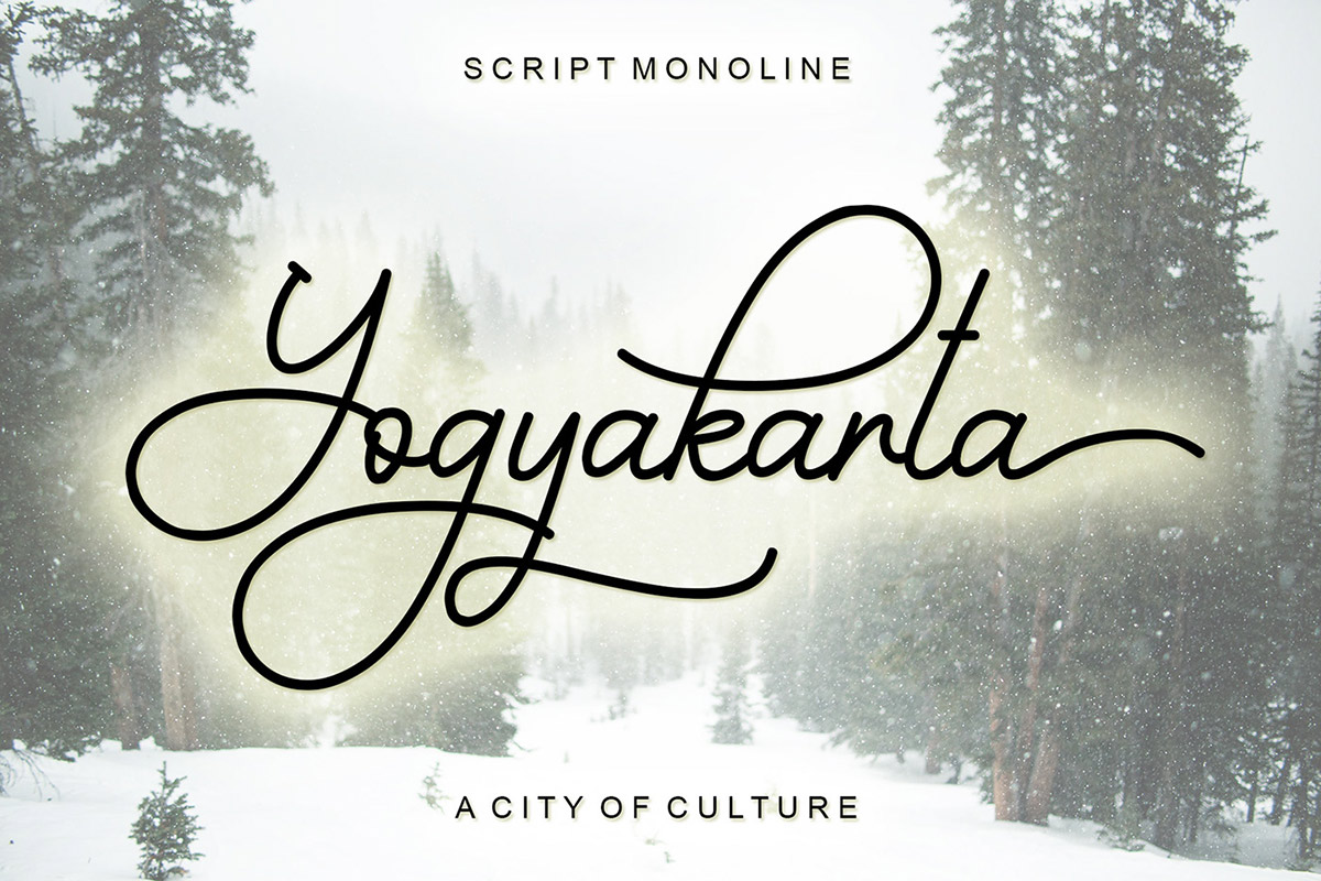 Free Yogyakarta Script Font