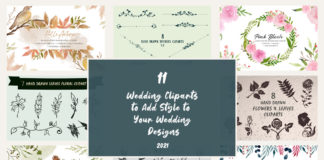 11 Wedding Clipart to Add Style to Your Wedding Designs