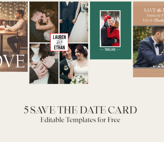 5 Free Save The Date Card Templates