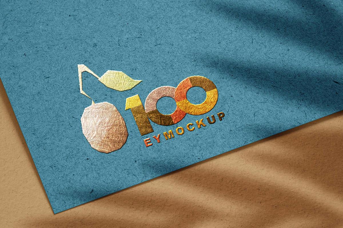 Free 3D Logo Mockup Template