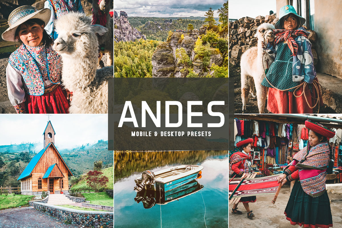 Free Andes Lightroom Presets