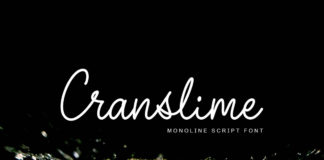 Free Cranslime Script Font