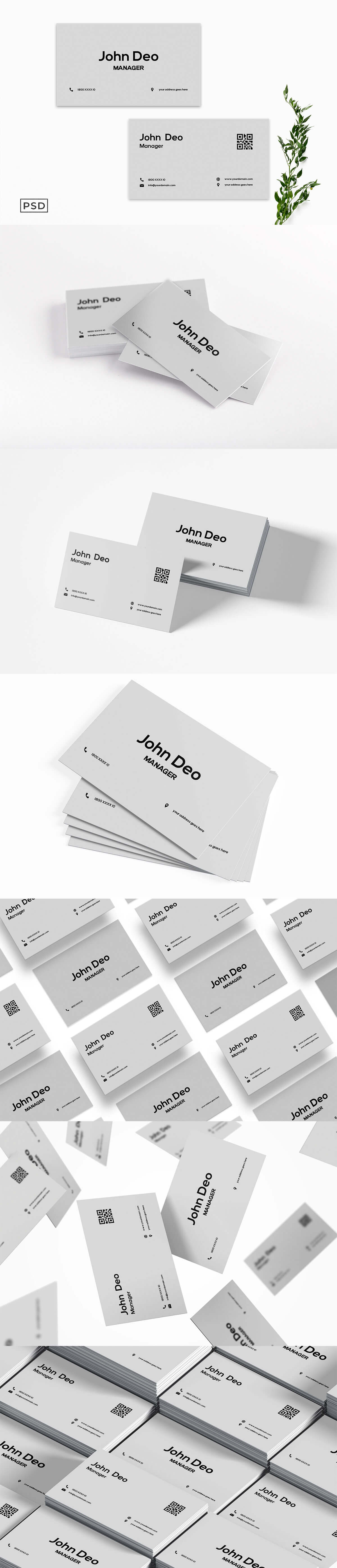 Free Creative Business Card Template V4