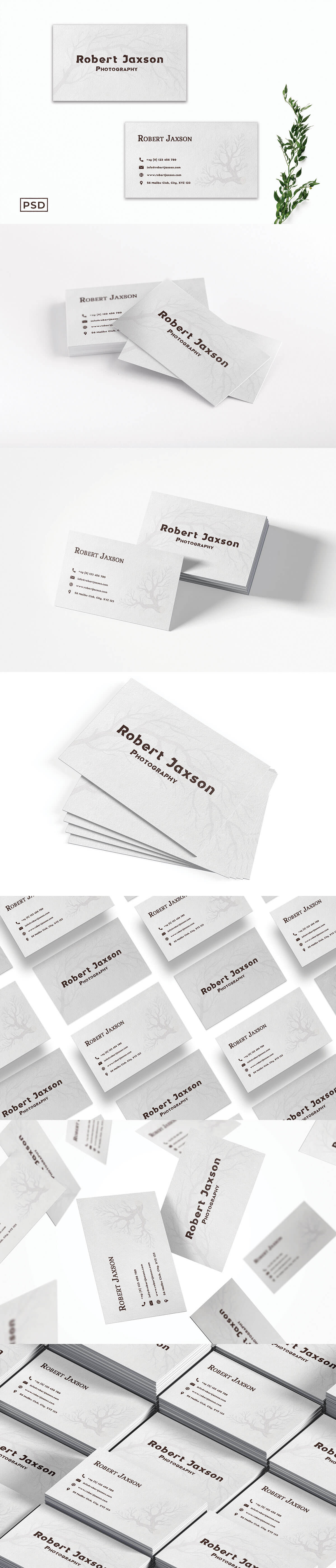 Free Creative Business Card Template V8