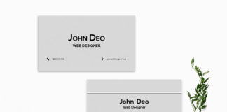 Free Creative Business Card Template V3