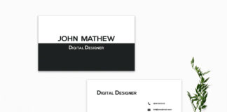 Free Creative Business Card Template V5