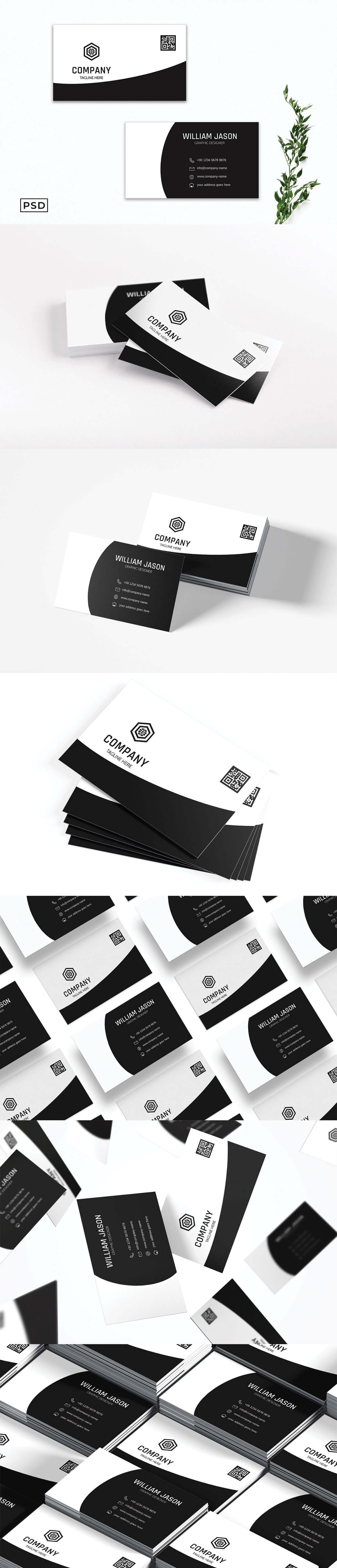 Free Creative Business Card Template V6
