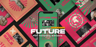 Free Future Instagram Post And Story Templates