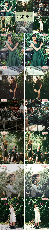 Free Garden Photoshop Actions