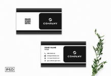 Free Innovative Business Card Template V6