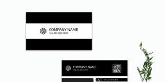 Free Innovative Business Card Template V3