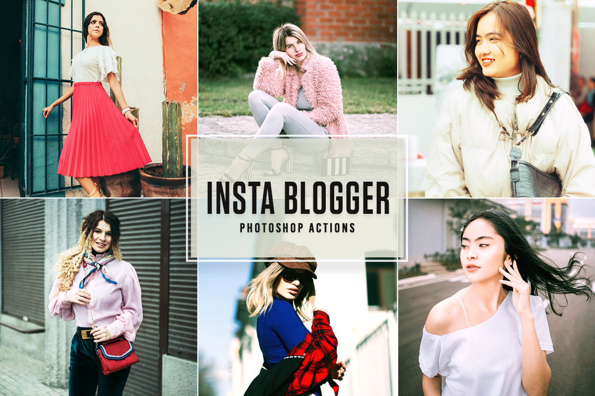 Free Insta Blogger Photoshop Actions