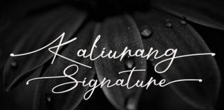 Free Kaliurang Handwritten Font