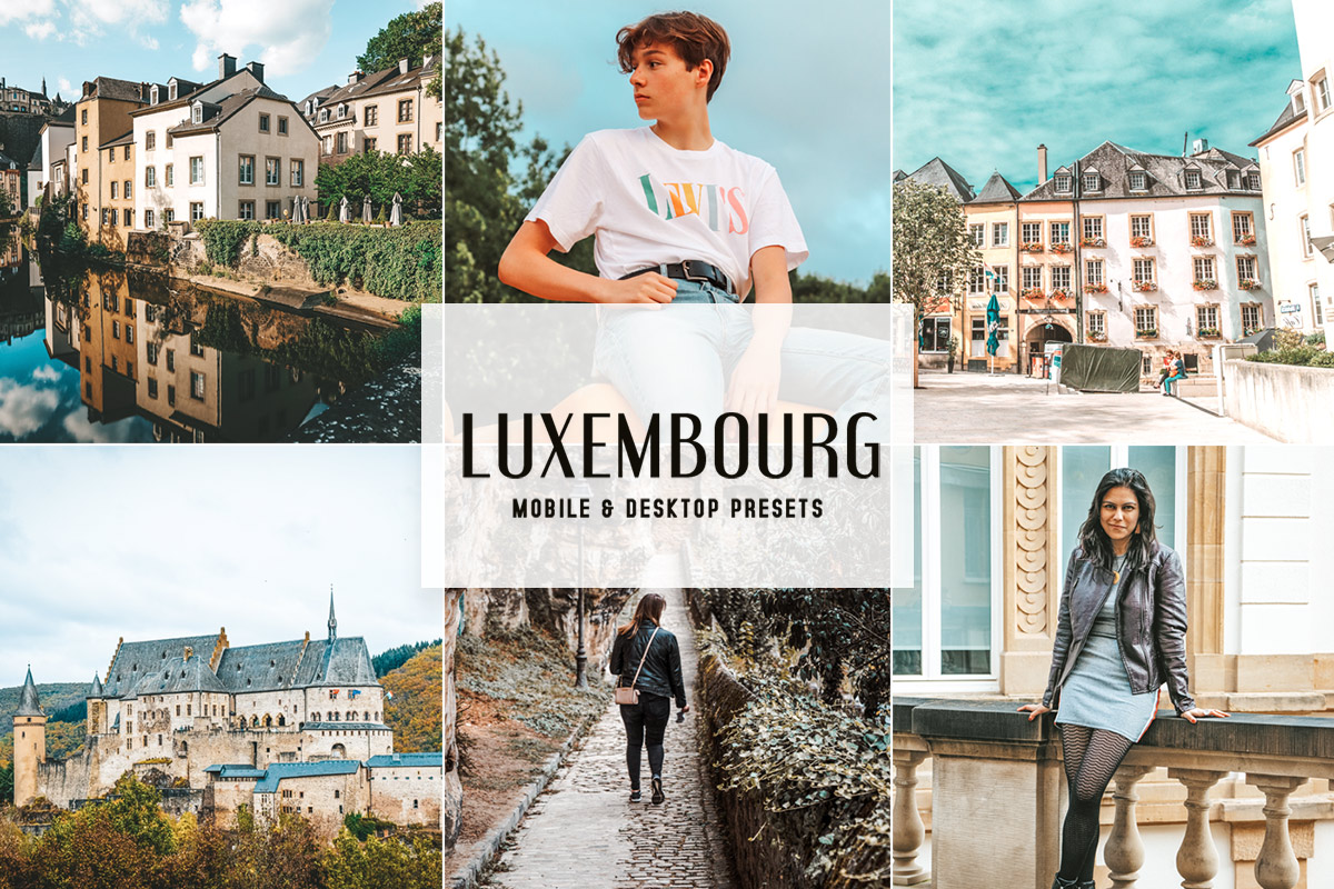 Free Luxembourg Lightroom Presets