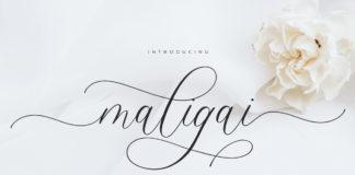 Free Maligai Script Font