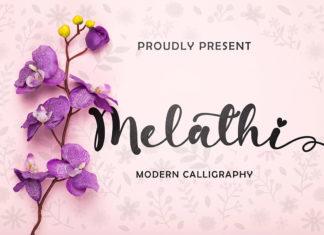Free Melathi Calligraphy Font